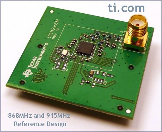 868 MHz and 915 MHz Design - TI