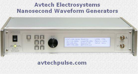 Avtech Electrosystems - Nanosecond Waveform Generators