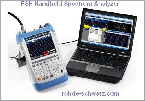 FSH Handheld Spectrum Analyzer