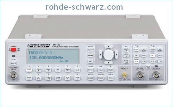 3 GHz Programmable Counter - Hameg